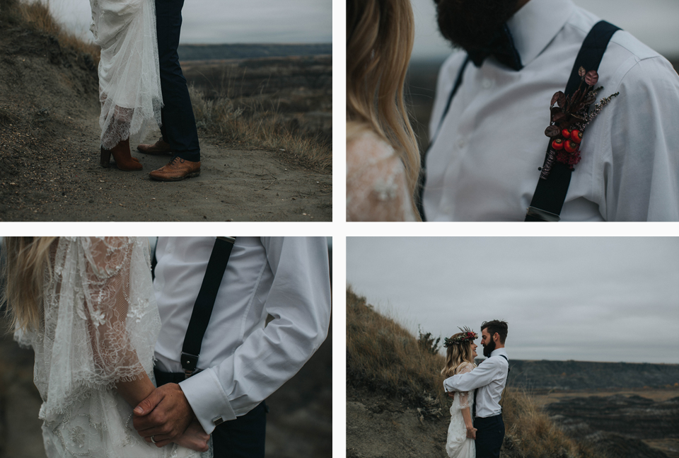 Drumheller Vow Renewal Elopement - Michelle Larmand Photography050