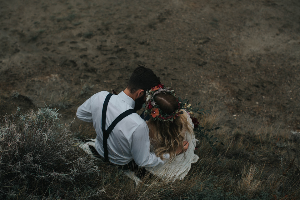 Drumheller Vow Renewal Elopement - Michelle Larmand Photography053