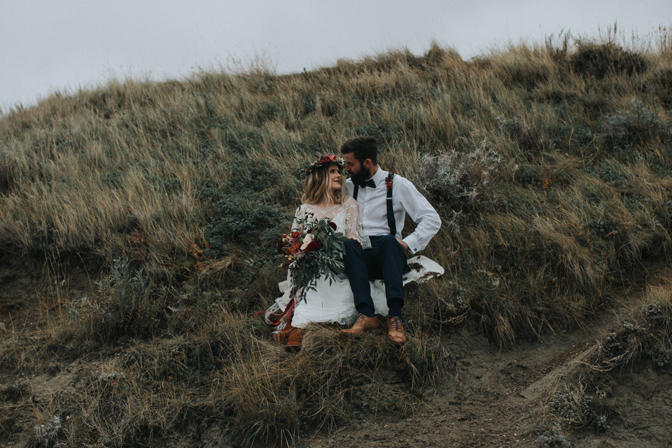 Drumheller Vow Renewal Elopement - Michelle Larmand Photography054