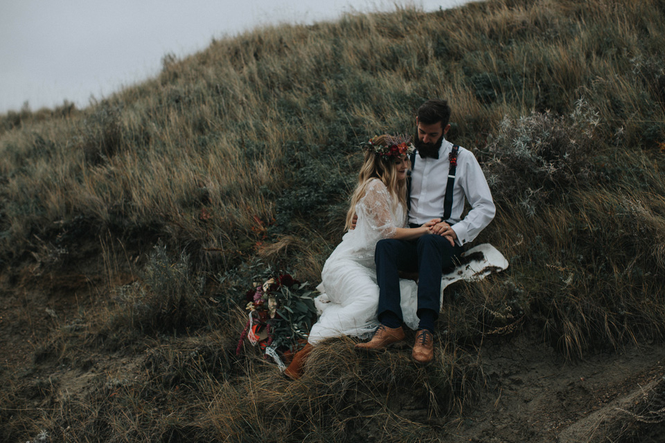 Drumheller Vow Renewal Elopement - Michelle Larmand Photography061