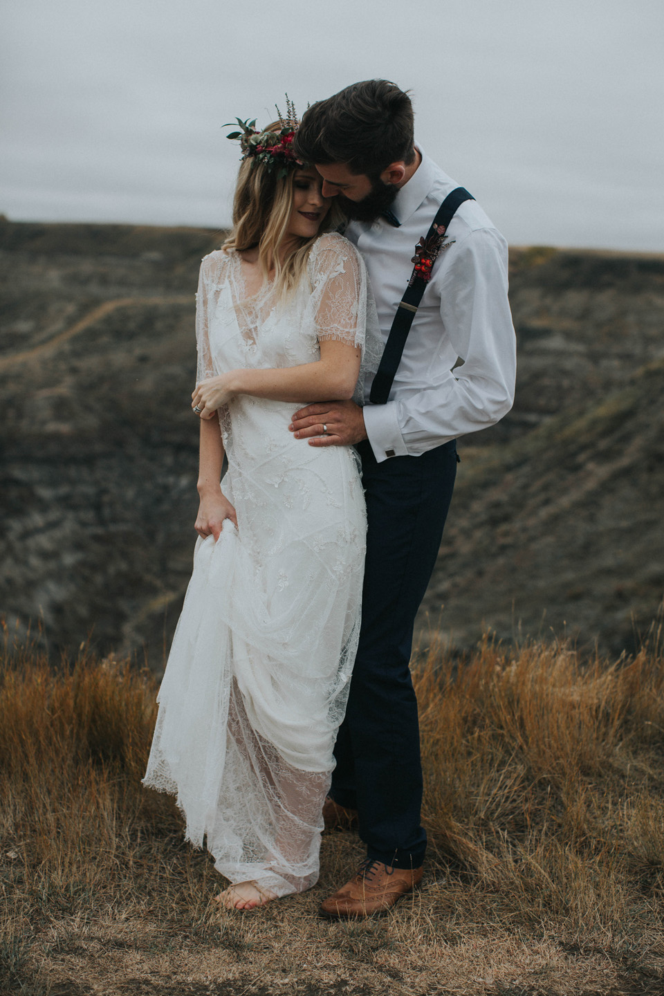 Drumheller Vow Renewal Elopement - Michelle Larmand Photography064