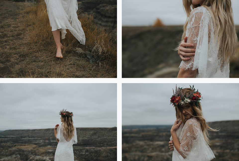 Drumheller Vow Renewal Elopement - Michelle Larmand Photography065