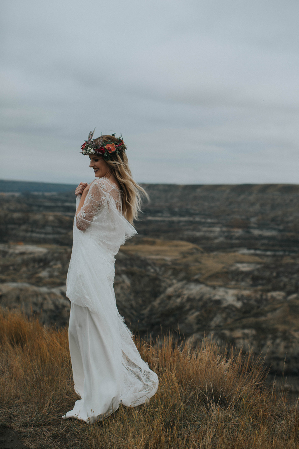 Drumheller Vow Renewal Elopement - Michelle Larmand Photography067