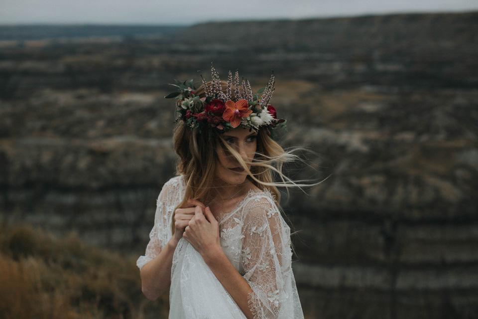 Drumheller Vow Renewal Elopement - Michelle Larmand Photography068