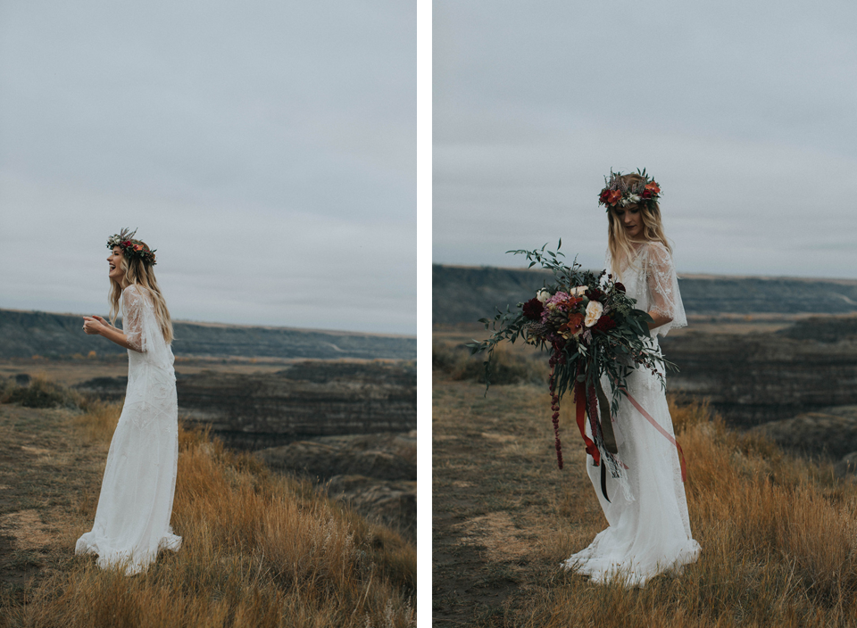 Drumheller Vow Renewal Elopement - Michelle Larmand Photography069