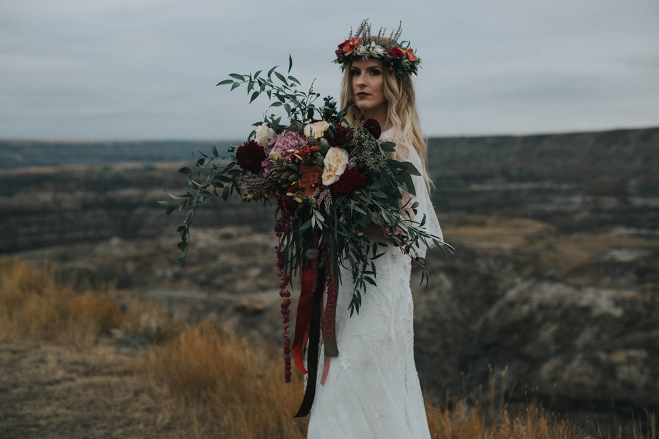 Drumheller Vow Renewal Elopement - Michelle Larmand Photography073