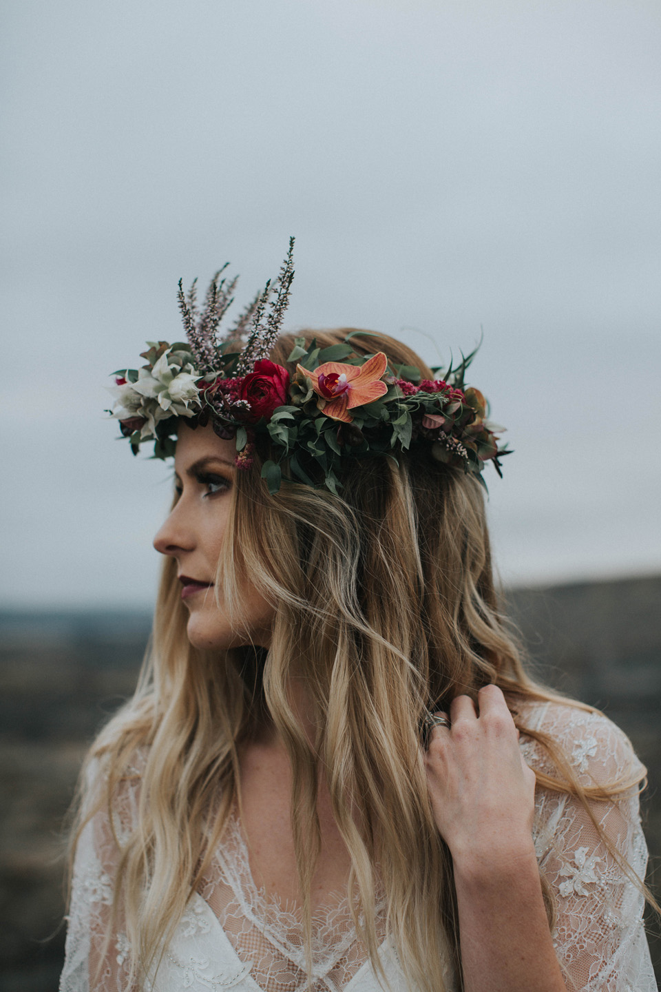 Drumheller Vow Renewal Elopement - Michelle Larmand Photography075