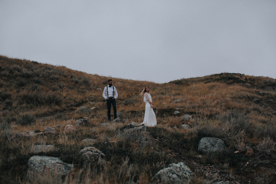 Drumheller Vow Renewal Elopement - Michelle Larmand Photography083