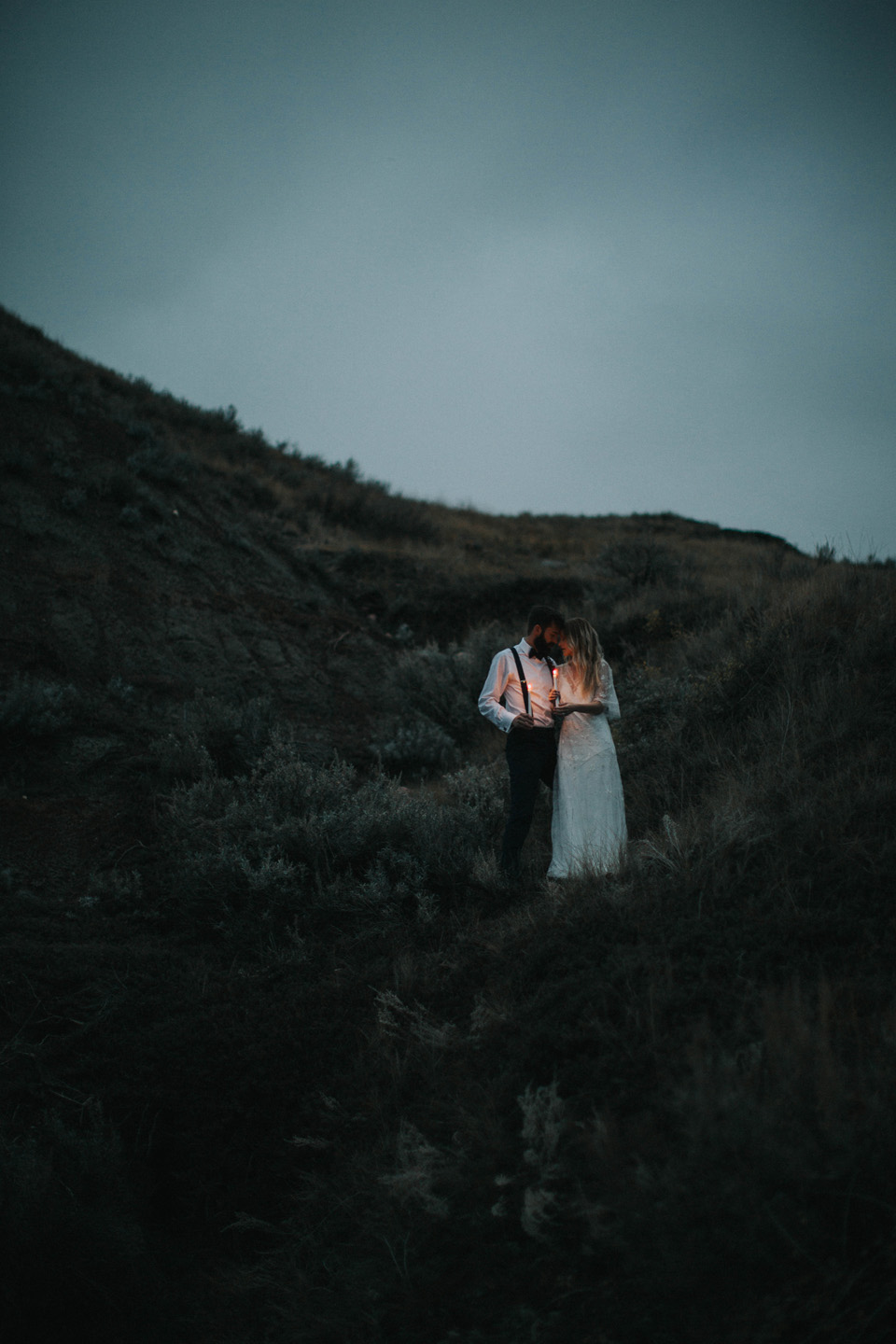 Drumheller Vow Renewal Elopement - Michelle Larmand Photography096