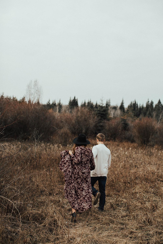 Edmonton Engagement Photographer - Michelle Larmand Photography - Mossy woods engagement session001