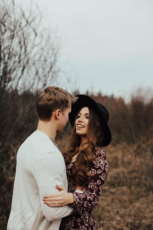 Edmonton Engagement Photographer - Michelle Larmand Photography - Mossy woods engagement session002