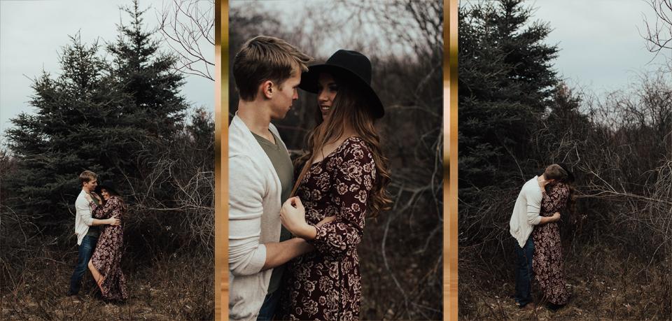 Edmonton Engagement Photographer - Michelle Larmand Photography - Mossy woods engagement session011