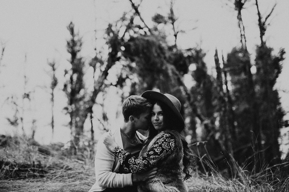 Edmonton Engagement Photographer - Michelle Larmand Photography - Mossy woods engagement session068