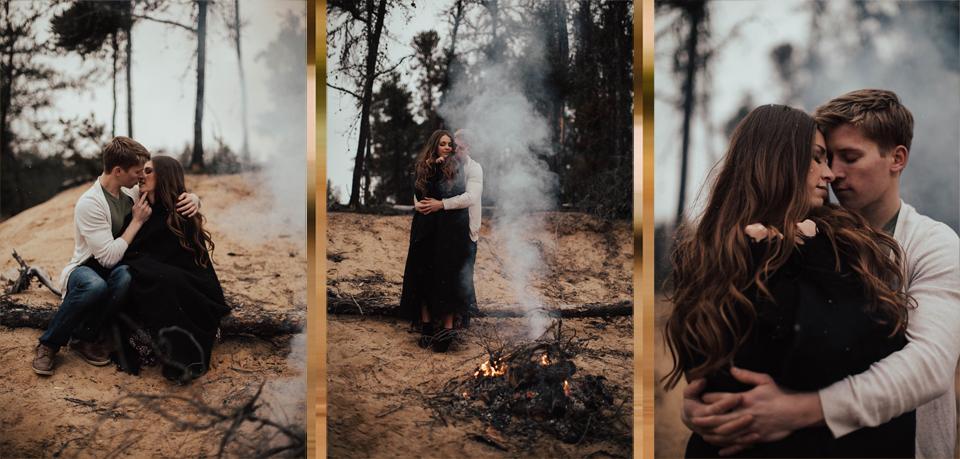 Edmonton Engagement Photographer - Michelle Larmand Photography - Mossy woods engagement session095