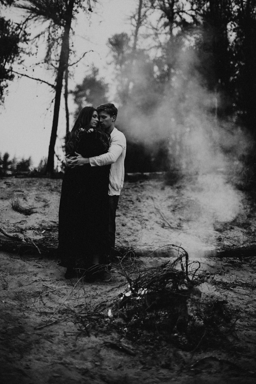 Edmonton Engagement Photographer - Michelle Larmand Photography - Mossy woods engagement session096