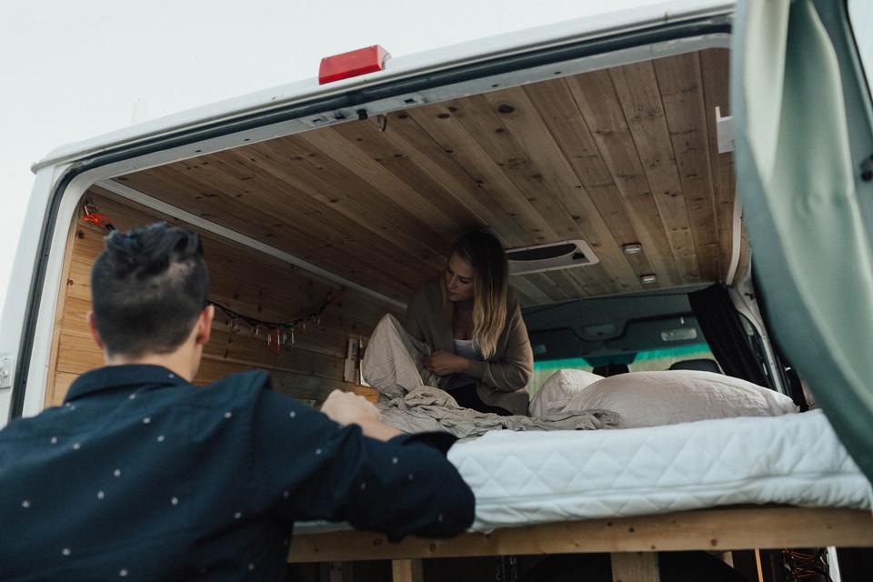 Elk Island Park Camper Van Engagement Session077