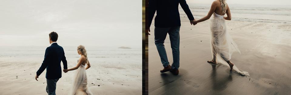 Hug Point Oregon Elopement - Michelle Larmand Photography -021