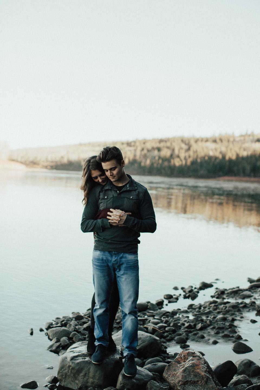 Michelle Larmand Photography adventure engagement session - edmonton wedding photographer023