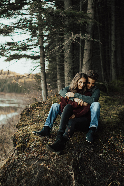 Michelle Larmand Photography adventure engagement session - edmonton wedding photographer042