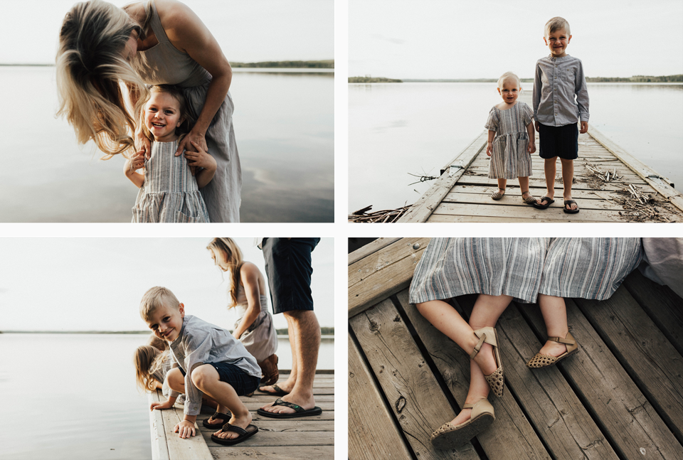 Summer lakeside family session - Michelle Larmand Photography - 005