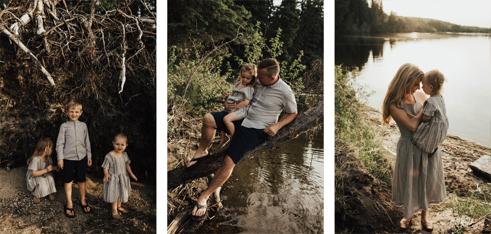 Summer lakeside family session - Michelle Larmand Photography - 019