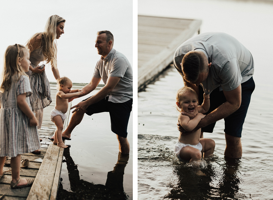 Summer lakeside family session - Michelle Larmand Photography - 049