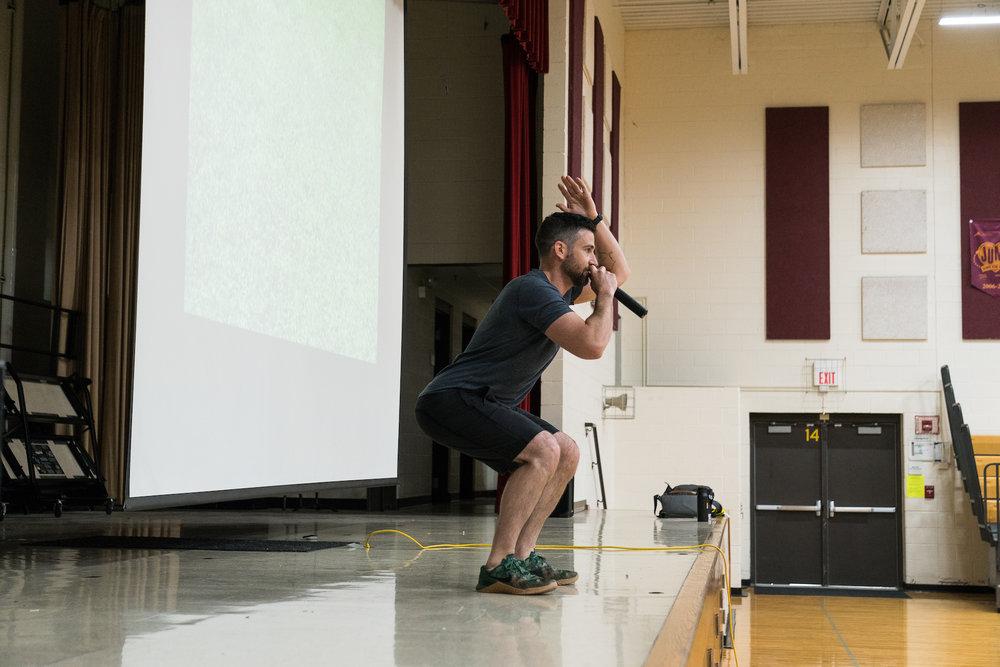 Steve Ettinger - School Speaker - kids fitness - kids yoga