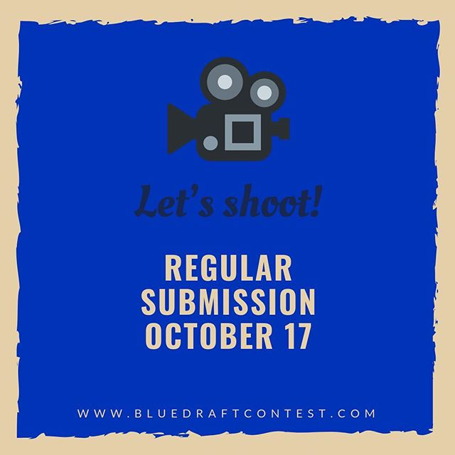 Submit your short film or short digital series and have your script fully produced. Regular Deadline goes till October 17. We're waiting for your script! Link in bio