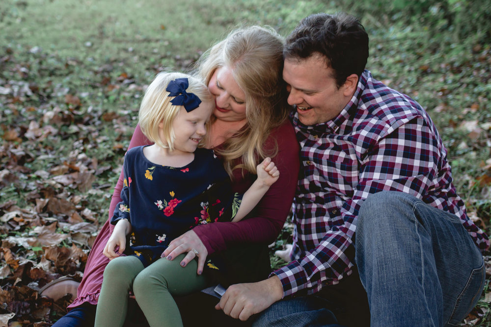 family photos in Knoxville