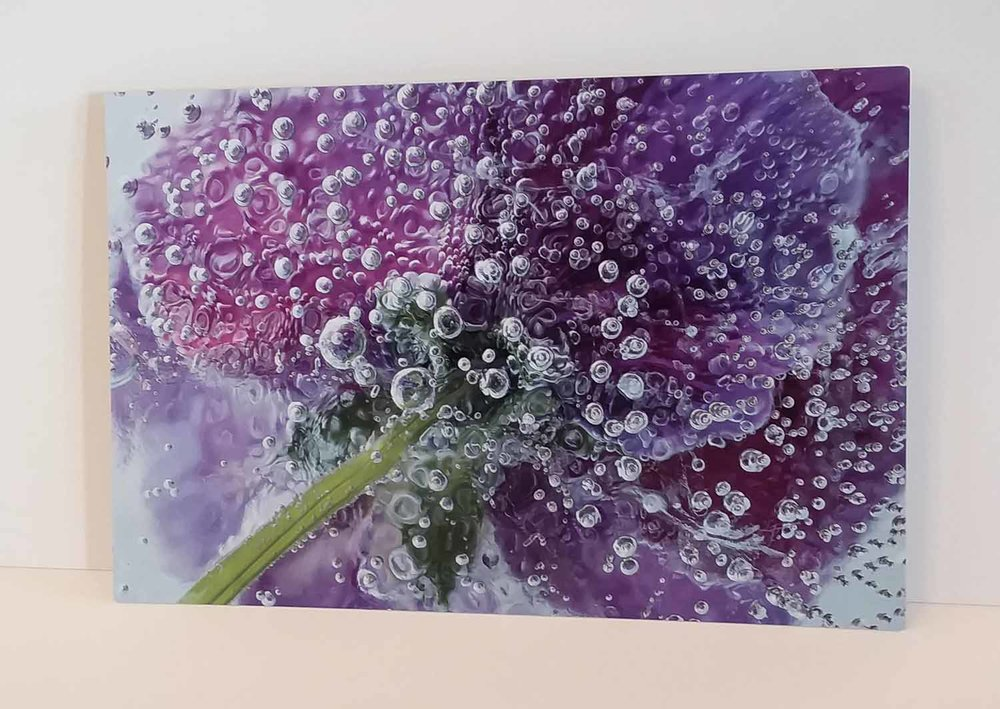 Metal prints are colorful, durable, and modern in design.