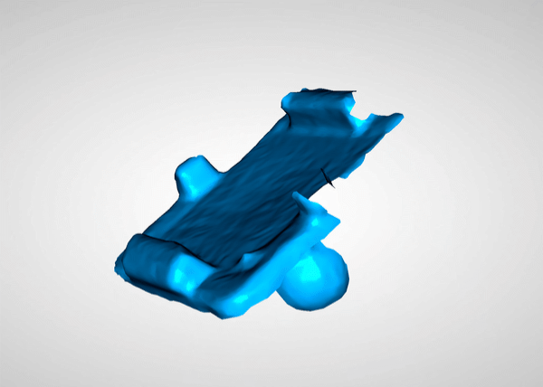 3D capture of plastic part
