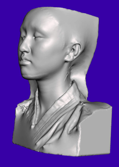 Scan reference, face