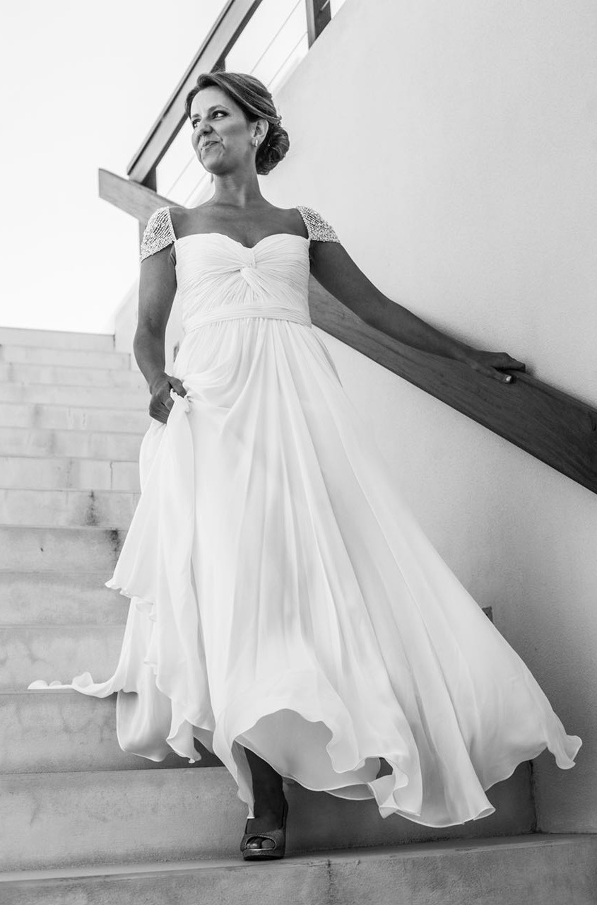 One Dress, Two Stories - Reem Acra — OUR STORY BRIDAL