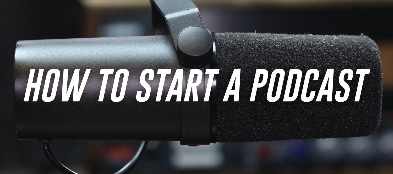 How to Start a Podcast — Bandrew Scott