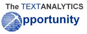 The Text Analytics Opportunity