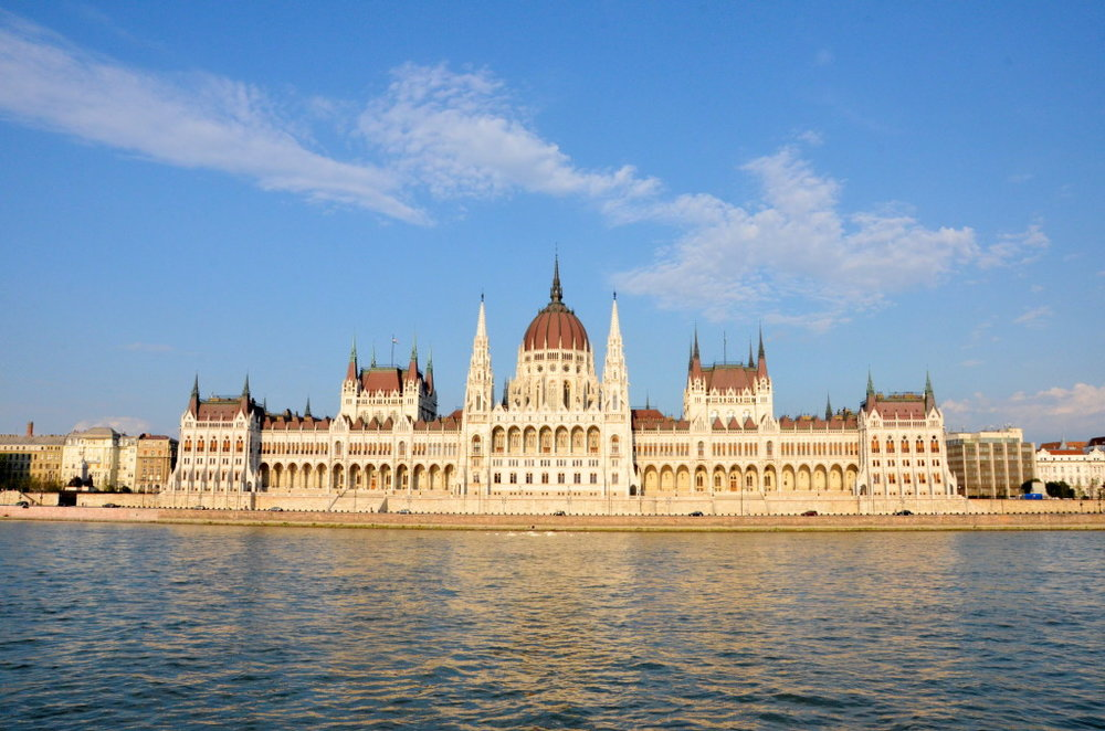 Hungarian Parliament, much majesty