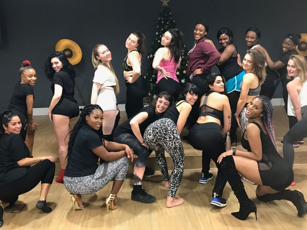 Twerking is the best way to stay fit, lose fat and have fun. Join Bam Bam Boogie Dance Fitness Classes in London, Dublin, Toronto and Amsterdam. Burn up to 600 calories per class. #TwerkAfterWork #TwerkinHeels