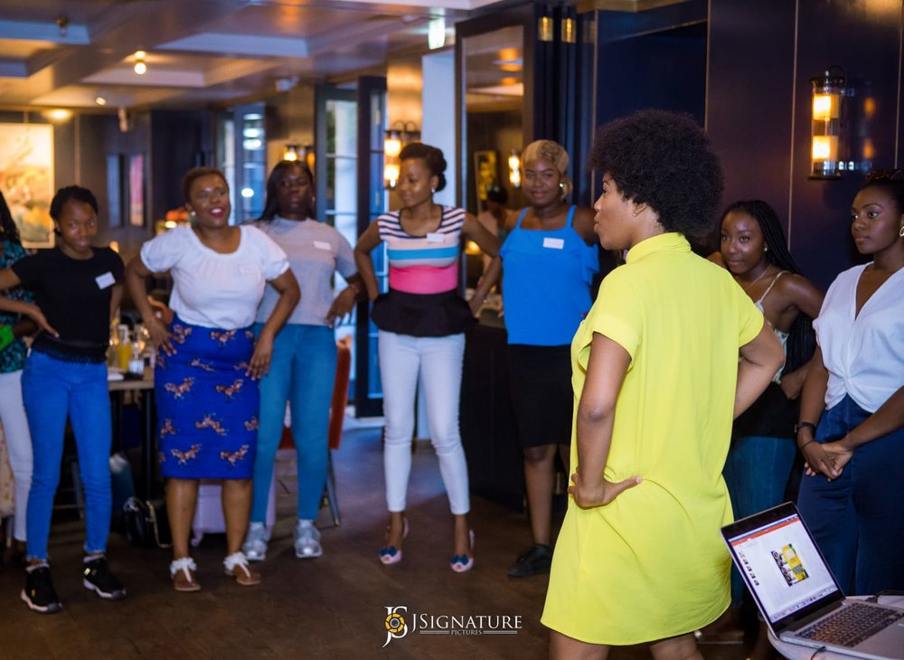 Bam Bam Boogie Dance Fitness Entrepreneur provides motivational speaking for small and large groups across London, Dublin and Amsterdam.