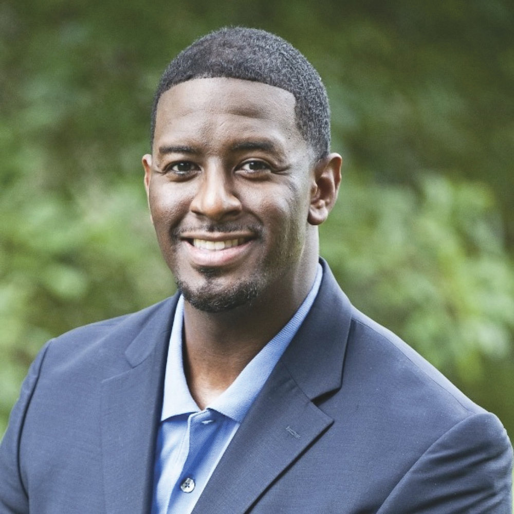 Tallahassee Mayor Andrew Gillum, 39, shocked the political establishment to win the gubernatorial primary in Florida on August 28th. (Courtesy Photo)