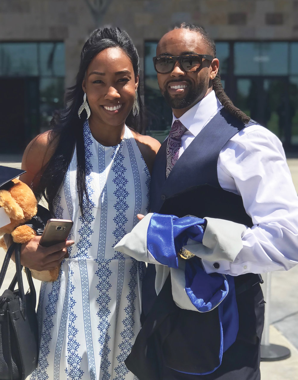 Dr. Corinthian A. Tyson and his fiancé Dr. Erica Smith. (Courtesy Photo)