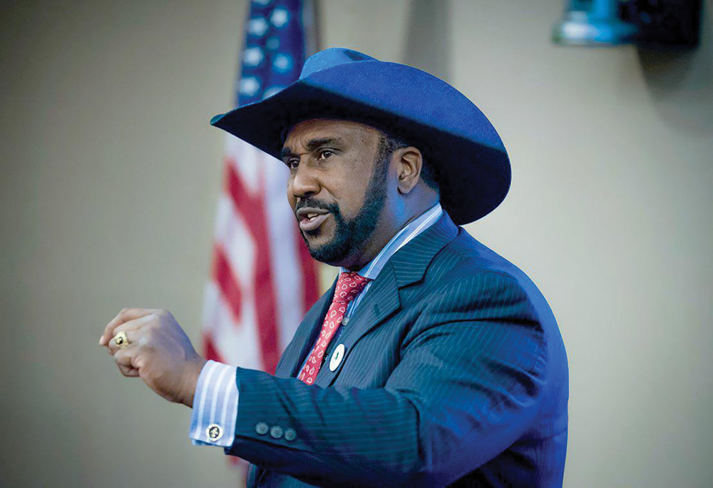 "John W. Boyd Jr. is president of the National Black Farmers' Association and says the black farmers settlement payouts have concluded. ""There's no pot of money to be tapped,"" Boyd said. ""Obama settled all of that already."" (Photo: nationalblackfarmersassociation.org)"
