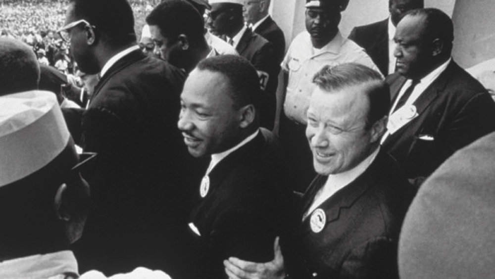 1965 with Dr. King and the March on Washington.