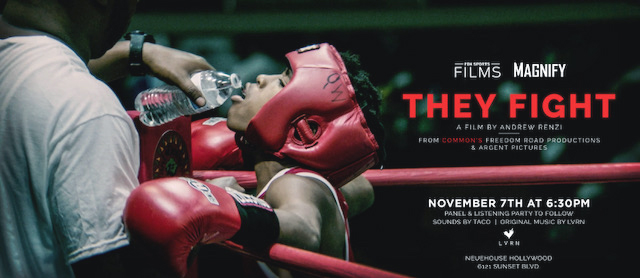 "_FOX SPORTS FILMS' ""MAGNIFY"" SERIES CELEBRATES ONE YEAR ANNIVERSARY WITH ""THEY FIGHT"" PREMIERE,  SUNDAY, NOVEMBER 11 ON FOX pic 2.jpg"