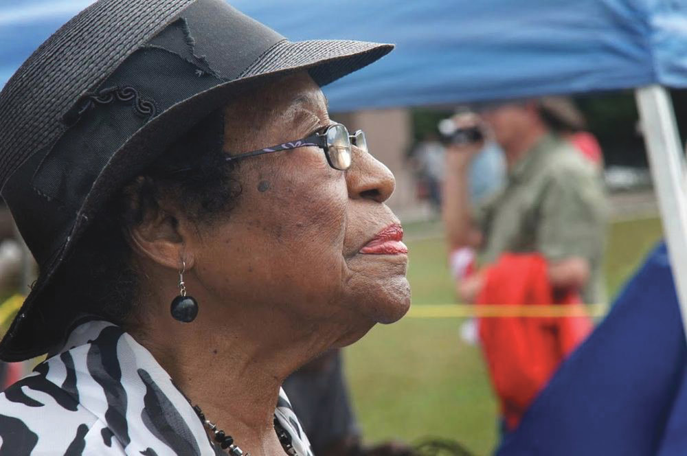 94 Year Old Rosanell Eaton Speaks at NC's America's Journey for Justice Rally. (courtesy photo)