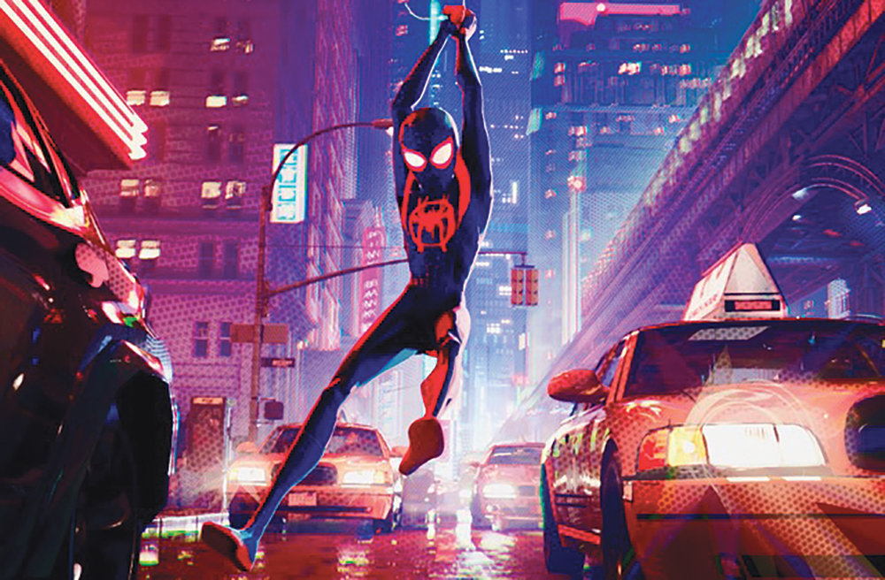 Shameik Moore lends his voice to the lead in Spiderman into the Spider-Verse