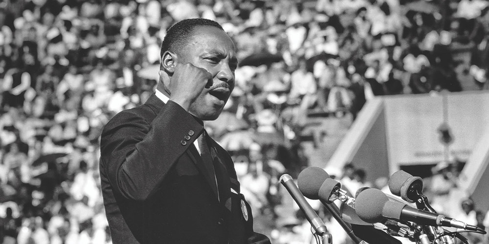 Martin Luther King Jr. (Photo by Ted Williams/Iconic Images/ Getty Images)