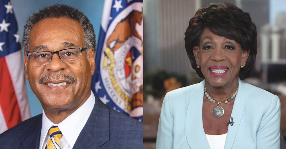 Congresswoman Maxine Waters (D-CA), Chairwoman of the House Financial Services Committee, and Congressman Emanuel Cleaver (D-MO), Chair of the Subcommittee on National Security, International Development, and Monetary Policy