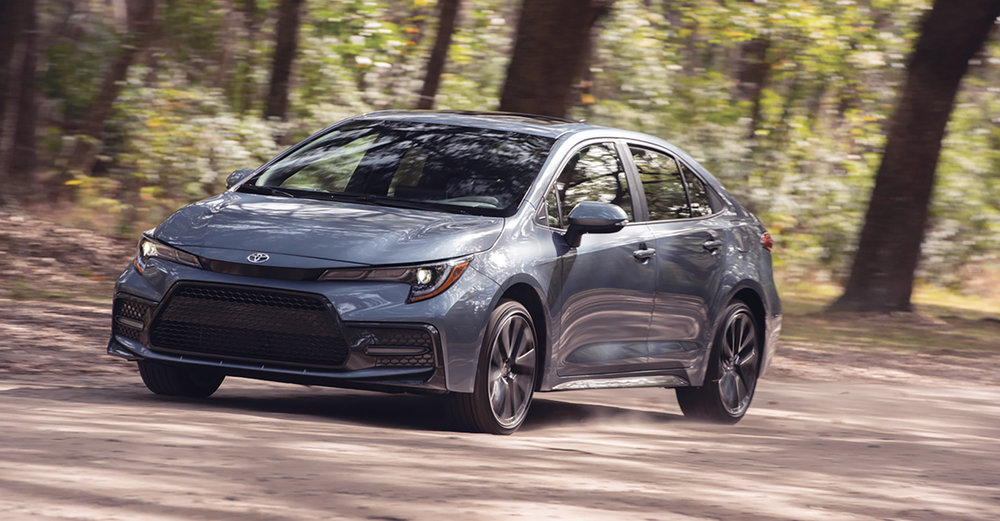 Oh, the 2020 Corolla has its own Wi-Fi connect that can service five devices. It's got a 24-hour live concierge service, remote connect, service connect and safety connect.