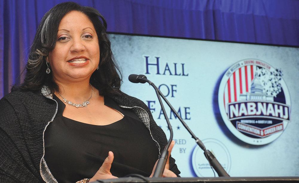 NABJ President Sarah Glover/Crusader Newspapers Photo
