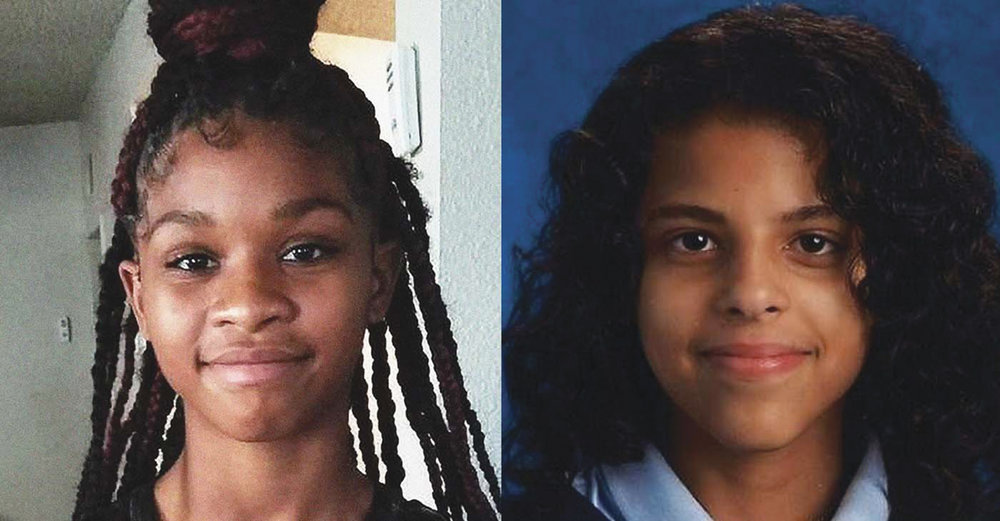 Have you seen Skylar Mannie (pictured at left) from Lancaster, Calif., Skylar is just 13 years old? She was last seen on Feb. 14. She has black hair, brown eyes, stands 5 feet 5 inches and weighs 130 pounds. Iniaya Wilson (right) is just 14 and has been missing from her Columbus, Ohio home since January 25. She has brown hair and brown eyes; standing 5 feet 6 inches tall and weighing 120 pounds.